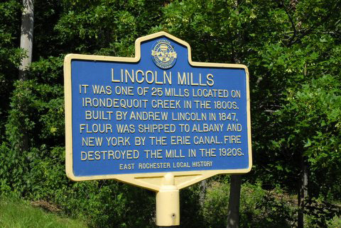 Roadside Markers East Rochester Local History
